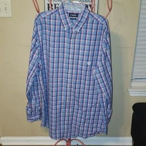 Chaps shirt size XL Tall